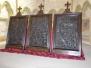 Výstava dřevořezeb v hradní kapli